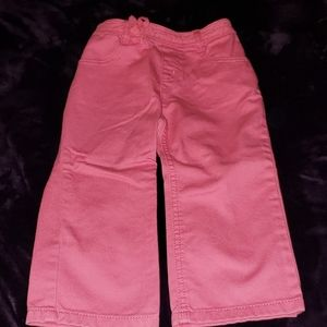 Worn once! GYMBOREE perfect pink pants💖